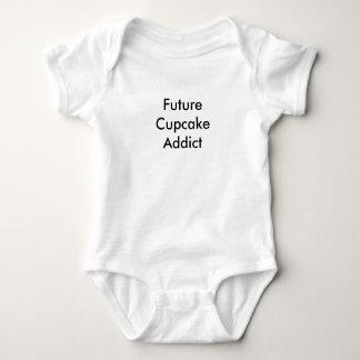 ¡Camiseta futura del bebé del adicto a la Playeras