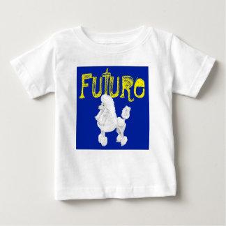 Camiseta futura del bebé del caniche