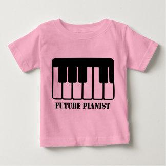 Camiseta futura del bebé del pianista remeras