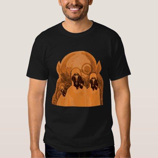 Camiseta futura del choque playera