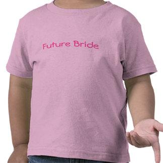 Camiseta futura del florista de la novia