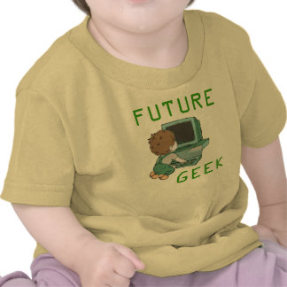 Camiseta futura del friki
