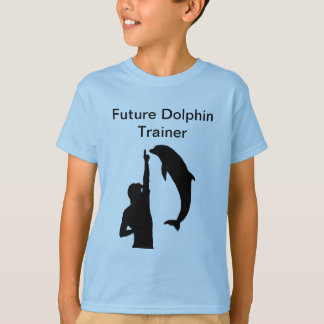 Camiseta futura del instructor del delfín