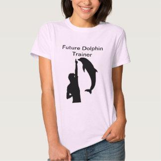Camiseta futura del instructor del delfín remeras
