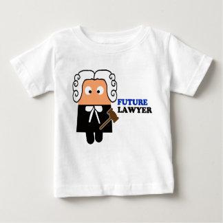 Camiseta futura del niño del abogado