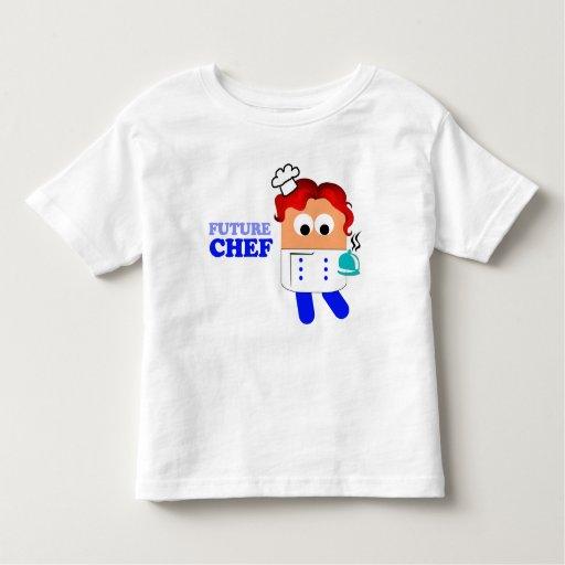 Camiseta futura del niño del cocinero