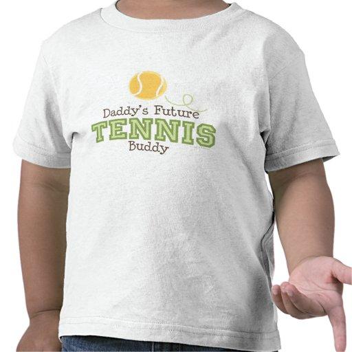 Camiseta futura del niño del compinche del tenis