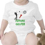 camiseta futura del niño del golfista