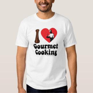 Camiseta gastrónoma del amor camisas
