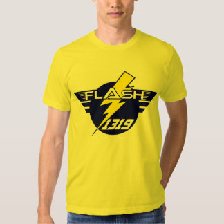 Camiseta general 1319 del flash (amarillo) playeras