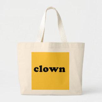 Camiseta genérica del PAYASO para Halloween Bolsas De Mano
