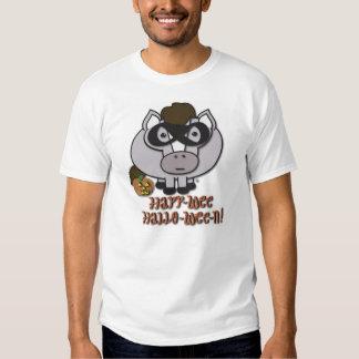 ¡camiseta Geo-pequenita del mensaje de Halloween! Remera