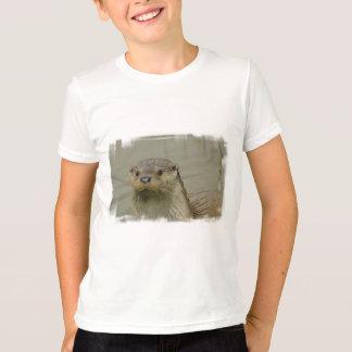 Camiseta gigante de la juventud de la nutria de