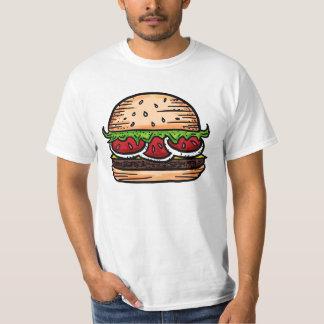Camiseta gigante del valor del humor de los polera