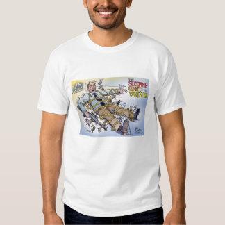 Camiseta gigante el dormir playeras