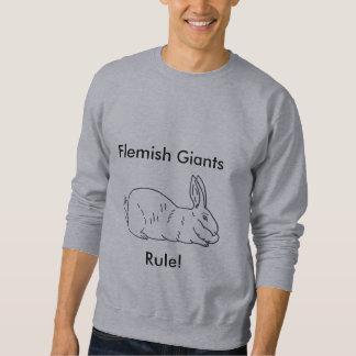 Camiseta gigante flamenca del conejo de los sudadera