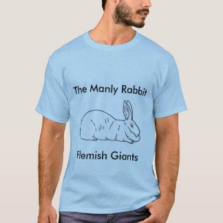 Camiseta gigante flamenca para hombre del conejo