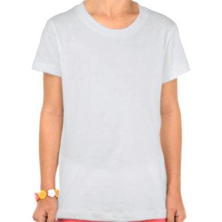 Camiseta gimnástica de los chicas playeras