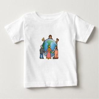 Camiseta global del amor playera