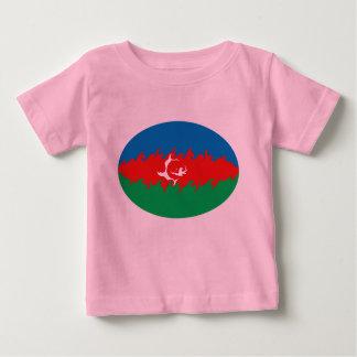Camiseta Gnarly de la bandera de Azerbaijan