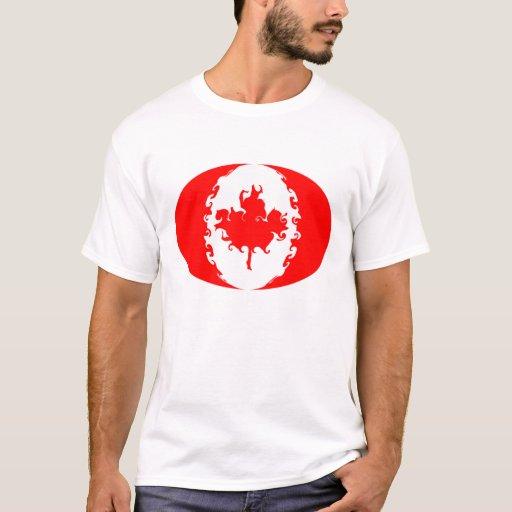 Camiseta Gnarly de la bandera de Canadá