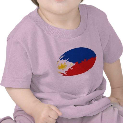 Camiseta Gnarly de la bandera de Filipinas