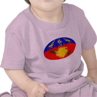 Camiseta Gnarly de la bandera de Guadalupe
