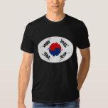 Camiseta Gnarly de la bandera de la Corea del Sur Polera