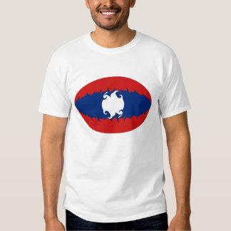 Camiseta Gnarly de la bandera de Laos Camisas