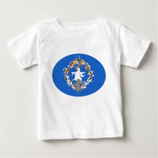 Camiseta Gnarly de la bandera de las Mariana Camisas