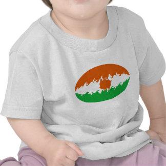Camiseta Gnarly de la bandera de Niger
