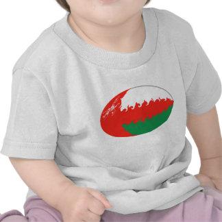 Camiseta Gnarly de la bandera de Omán