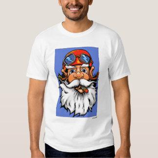 Camiseta - gnomo del motorista camisas