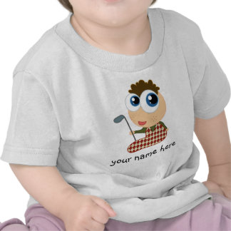 Camiseta Golfing personalizada de los niños del go