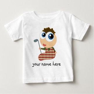 Camiseta Golfing personalizada de los niños del Playera Para Bebé