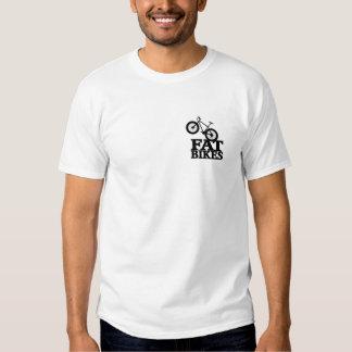 Camiseta gorda 2 de la bici echada a un lado poleras