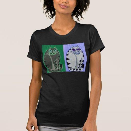 Camiseta gorda de Catz