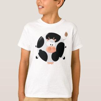 Camiseta gorda de la vaca