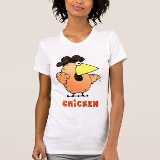 Camiseta gorda del pollo del pollo el | del dibujo