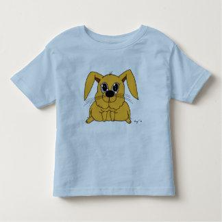 Camiseta gorda linda de los niños del conejito