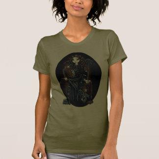 Camiseta gótica de la muñeca de Brown del Faery Playera