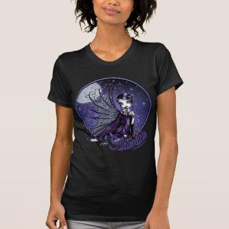 Camiseta gótica de la muñeca de la luna del poleras