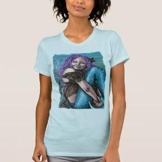 camiseta gótica de la sirena