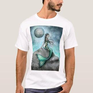Camiseta gótica del arte de la fantasía de la