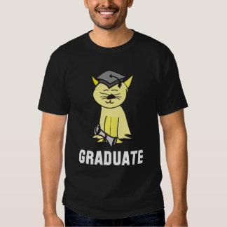 Camiseta graduada de la graduación remeras