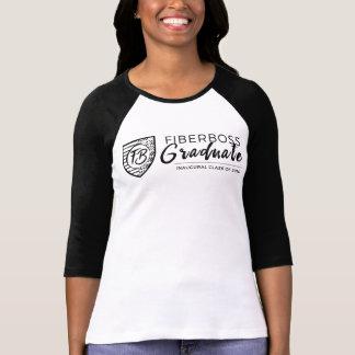 Camiseta graduada del equipo universitario de