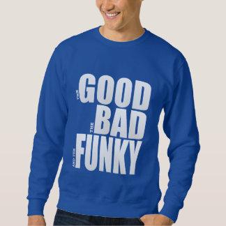 Camiseta gráfica de la buena mala parodia sudadera con capucha