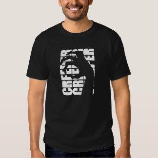 Camiseta gráfica de la enredadera - negro - por la playeras