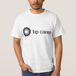 Camiseta gráfica de los cuidados de BP Remera