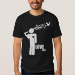 Camiseta gráfica de LoveKills (oscura) Playera